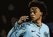 Leroy Sane Tactical Analysis Manchester City