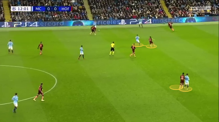 Manchester City UEFA Champions League tactical analysis